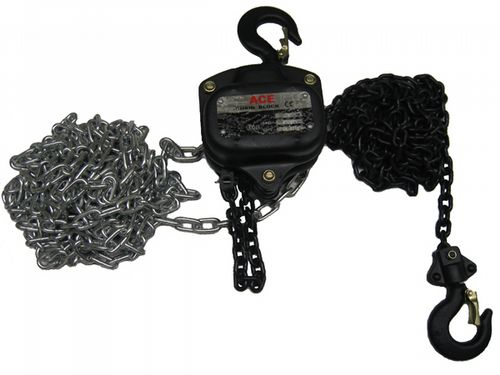 Chain Blocks - Lifting Electric Dacromet Manual Pulling Hoist Safety Hooks